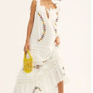 Xs charm your way maxi dress free people